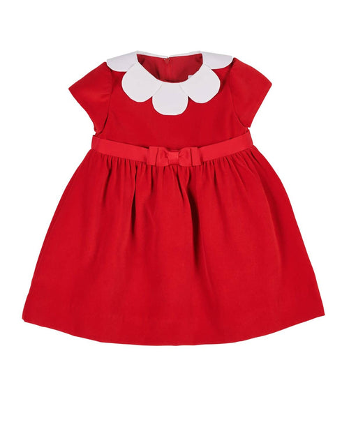 Red Velvet Dress - Florence Eiseman