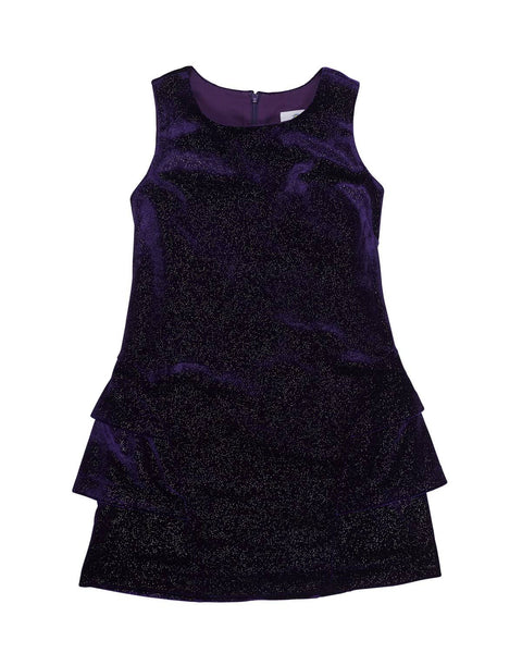 Sparkle Stretch Velvet Dress - Florence Eiseman