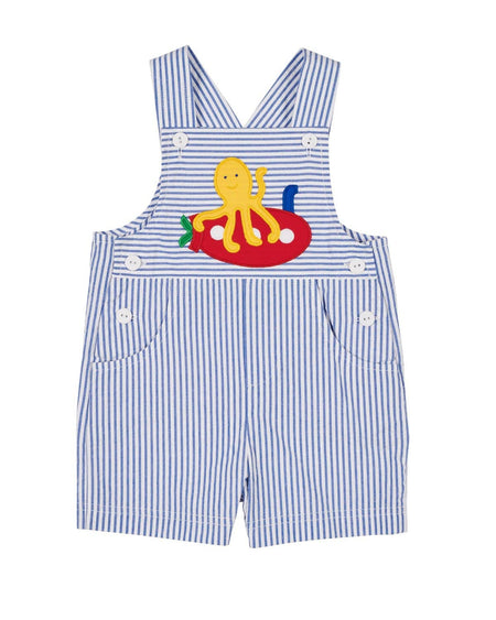 Boys Suspender Shorts and Shirt