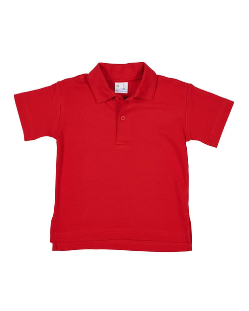 Classic Boys Red Polo Shirt - Florence Eiseman