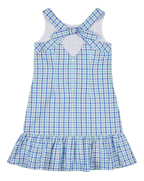 Plaid Seersucker Dress - Florence Eiseman
