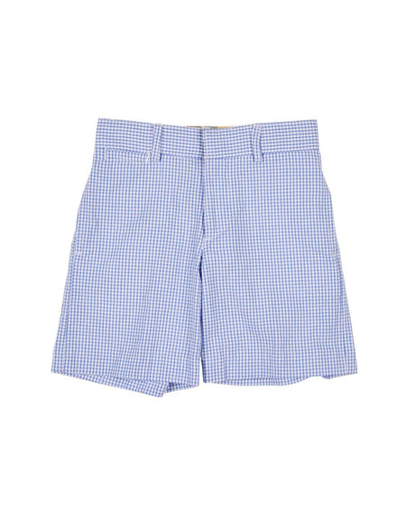 Blue Stripe Shirt and Blue Pull On Shorts