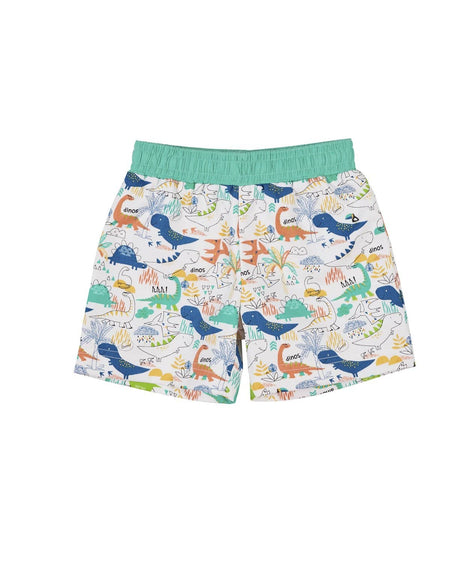 Boys Lobster Print Trunks