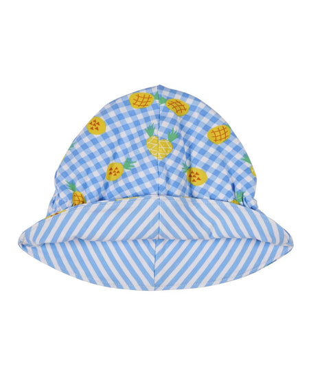 Confetti Print Reversible Girls Hat