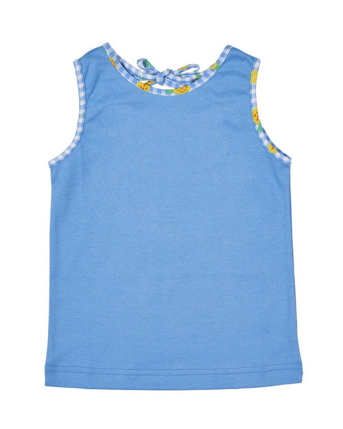 Blue Girls Tank Top - Florence Eiseman