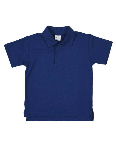 French Navy Blue Polo Shirt - Florence Eiseman