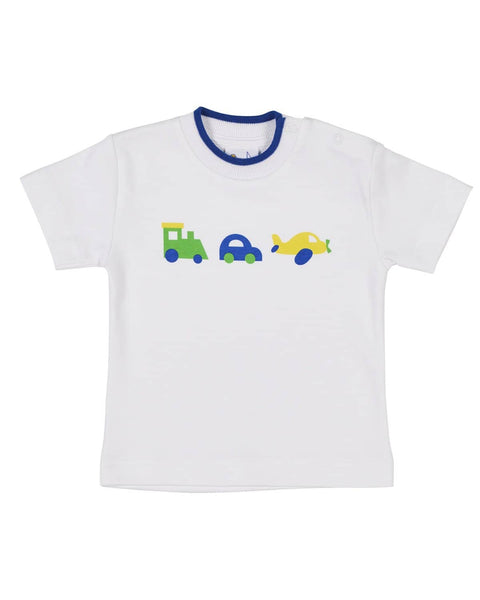 c949af4aa T-Shirt with Vehicle Screen Print – Florence Eiseman
