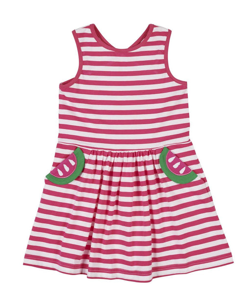 Stripe Knit Watermelon Dress - Florence Eiseman
