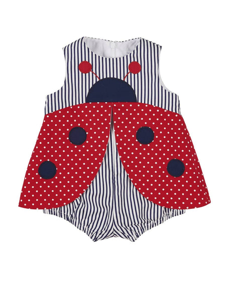 Polka Dot Tankini with Solid Bottoms