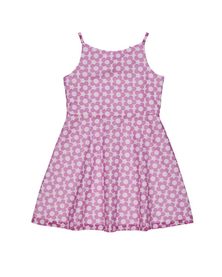 Blue and White Waffle Dot Tankini