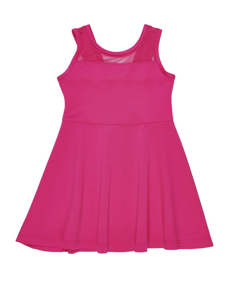 Tween Pink Lace Dress