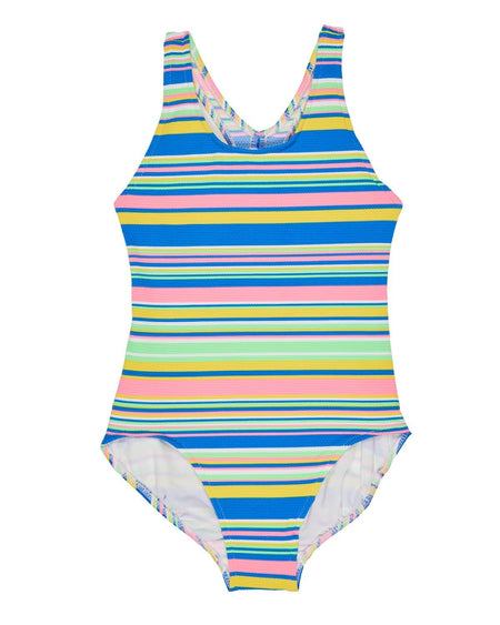 Tween Scattered Dot Tankini