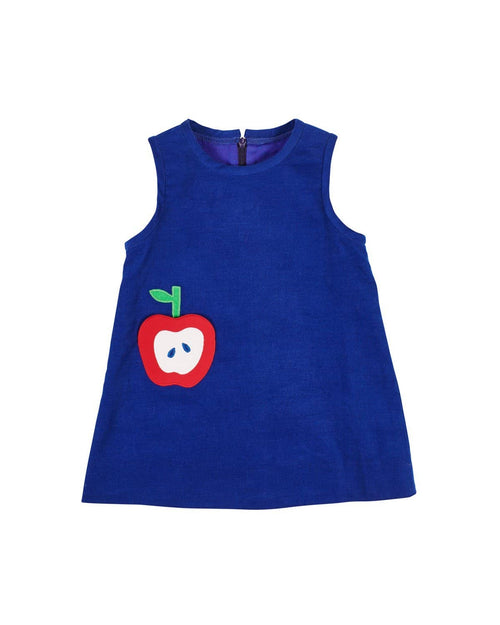 Corduroy Jumper with Apple Pocket - Florence Eiseman