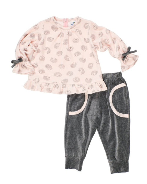 Girls Hedgehog Top and Pant - Florence Eiseman