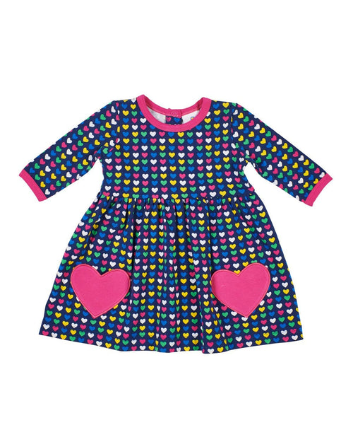Heart Print Dress with Heart Pockets - Florence Eiseman