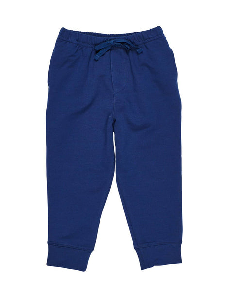 Navy French Terry Jog Pant - Florence Eiseman