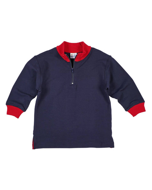 French Terry Half-Zip Shirt - Florence Eiseman