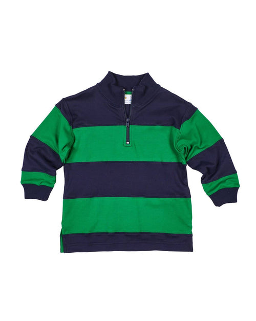 Navy and Green Rugby Shirt - Florence Eiseman