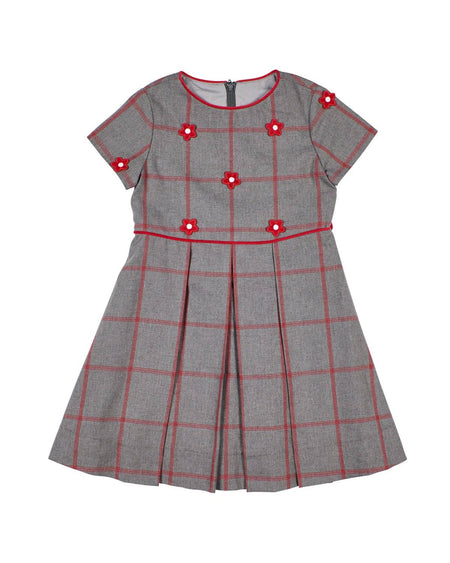 Plaid Boucle Dress