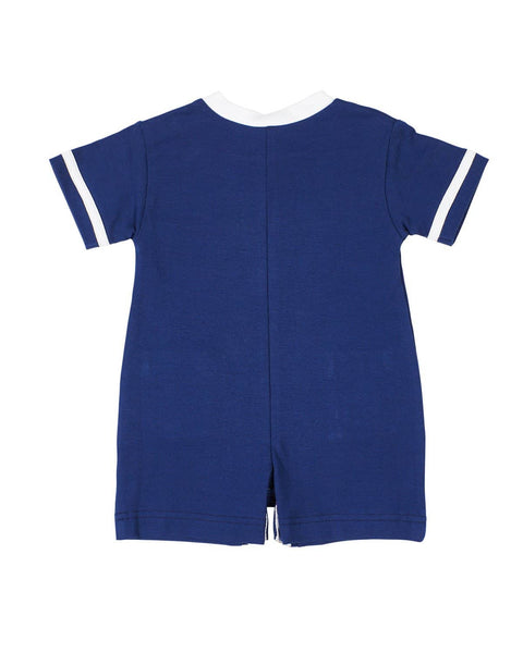 Baby Boys Navy Nautical Romper - Florence Eiseman