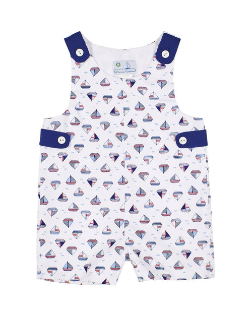 Baby Boys Nautical Shortall - Florence Eiseman