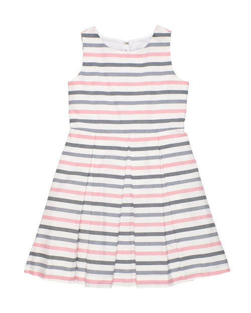 Stripe Dress with Back bows - Florence Eiseman
