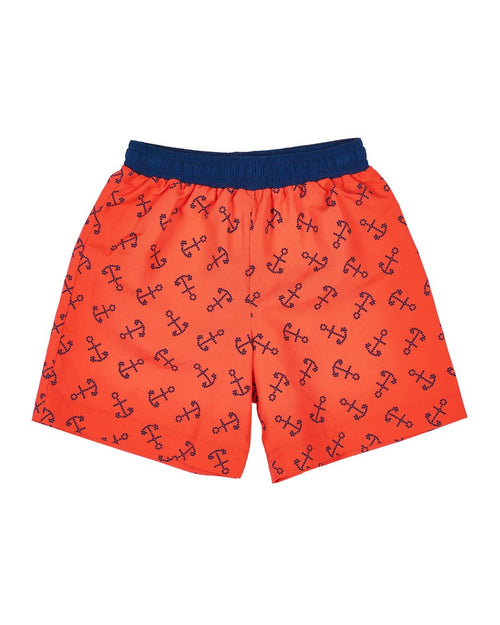 Anchor Print Swim Trunks - Florence Eiseman