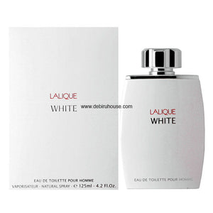 Lalique - White by Lalique EDT 125ml (Men)