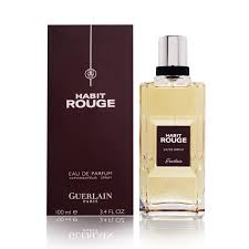 Habit Rouge by Guerlain EDP 100ml (Men)