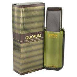 QUORUM by Antonio Puig Eau De Toilette Spray 3.4 oz (Men)