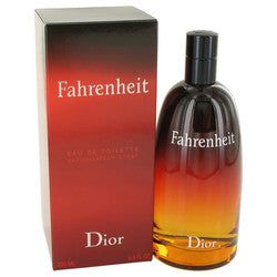 FAHRENHEIT by Christian Dior Eau De Toilette Spray 6.8 oz (Men)