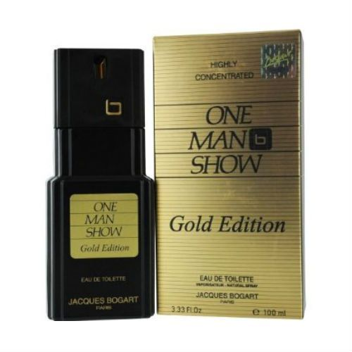 One Man Show Gold Edition By Jacques Bogart EDT 100ml For Men