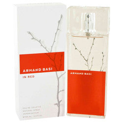 Armand Basi in Red by Armand Basi Eau De Toilette Spray 3.4 oz (Women)