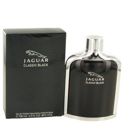 Jaguar Classic Black by Jaguar Eau De Toilette Spray 3.4 oz (Men)
