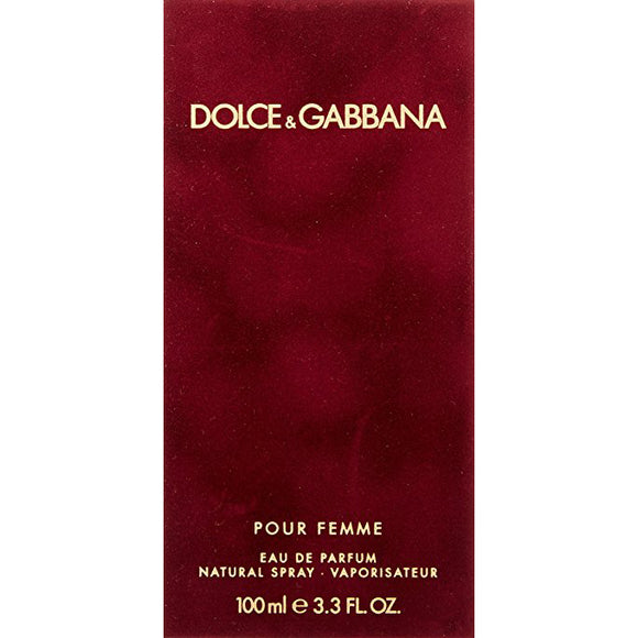 D&G Red Pour Femme By Dolce & Gabbana EDP 100ml For Women