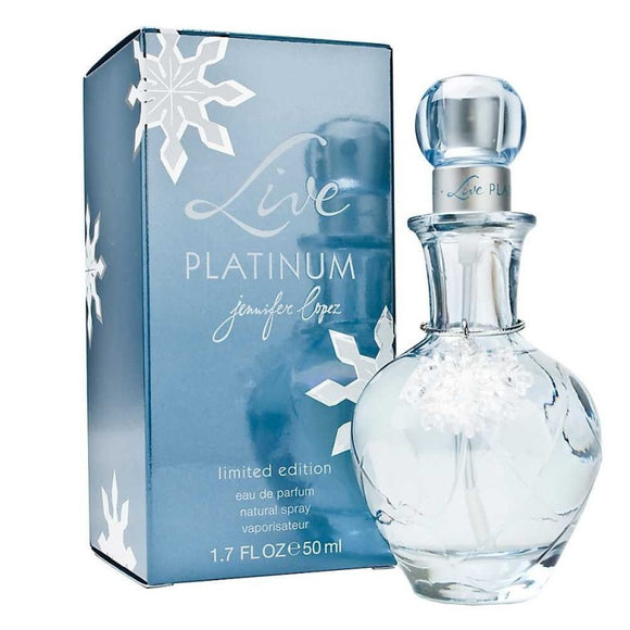Live Platinum By Jennifer Lopez EDP 50ml For Women