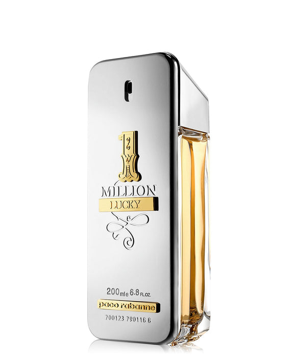 1 Million Lucky By Paco Rabanne EDT 200ml For Men