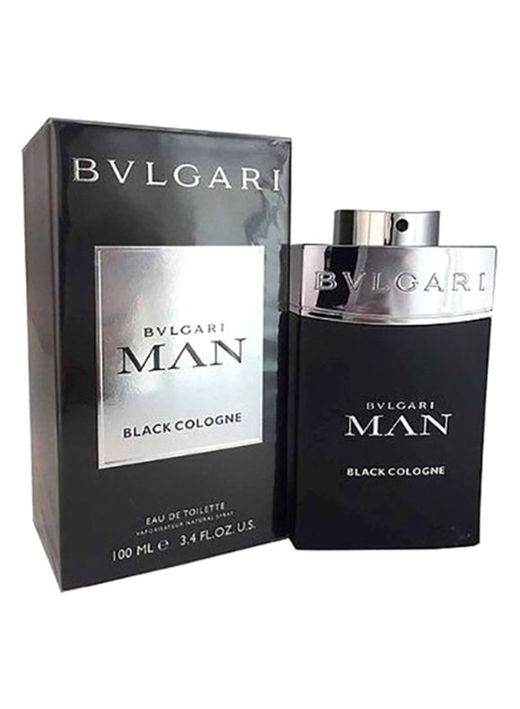 Black Cologne EDT 100 ml by Bvlgari For Men