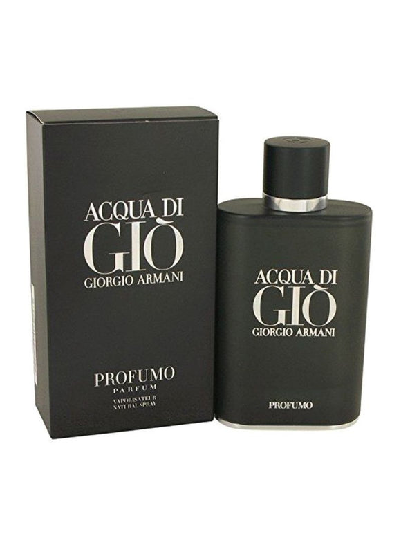 Acqua Di Gio Black Profumo EDP 125 ml by Armani For Men