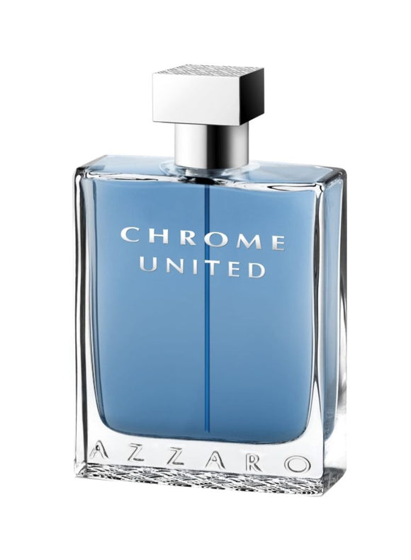Chrome United EDT 100 ml by Azzaro For Men