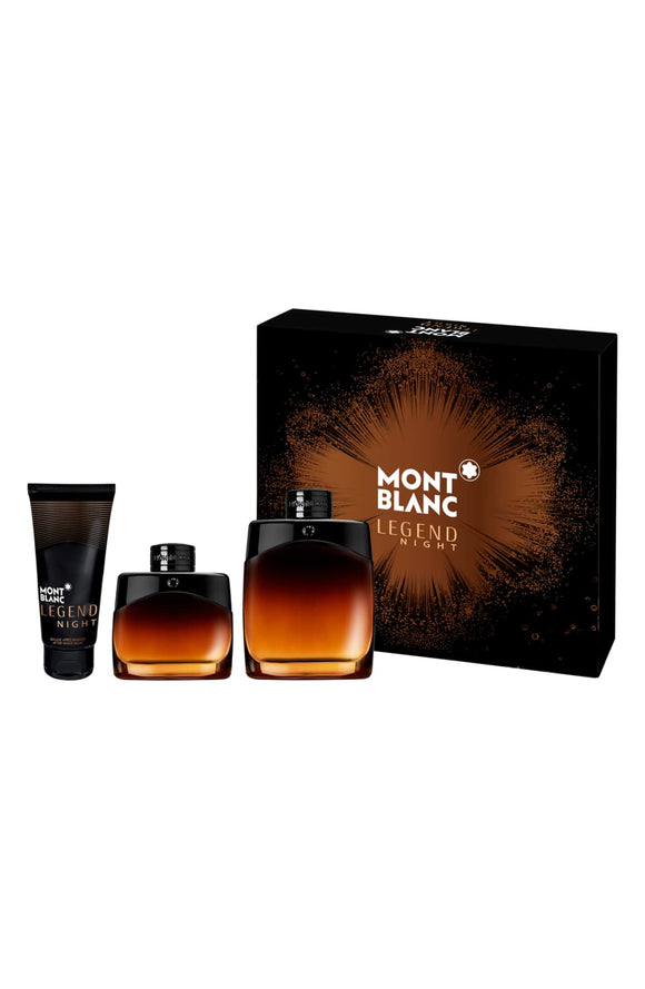 Mont Blanc Legend Night Gift Set By Mont Blanc 100ml For Men
