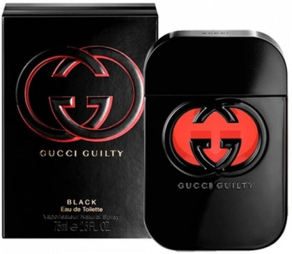 Gucci Guilty Black By Gucci EDT 75ml For Women