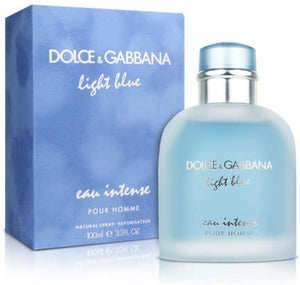 D&G Light Blue eau Intense By Dolce & Gabbana EDP 100ml For Men