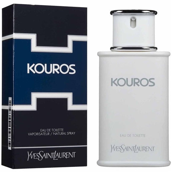 Kouros by Yves Saint Laurent Eau De Toilette Spray 3.4 oz (Men)