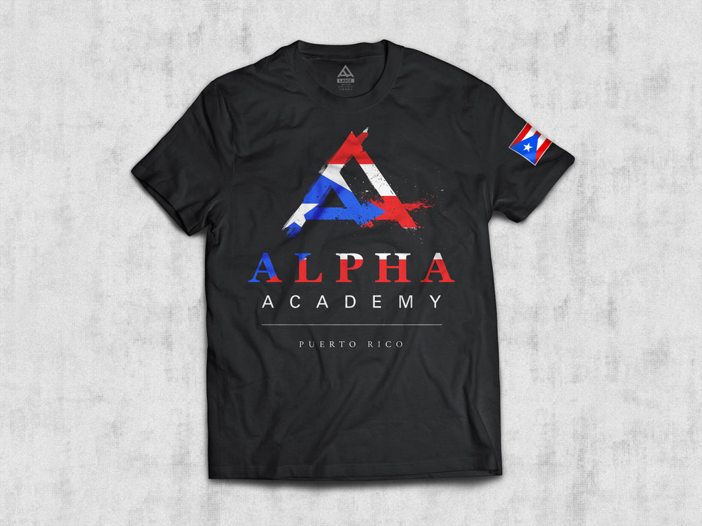 Alpha Academy / Puerto Rico • Men's Short Sleeve Tee