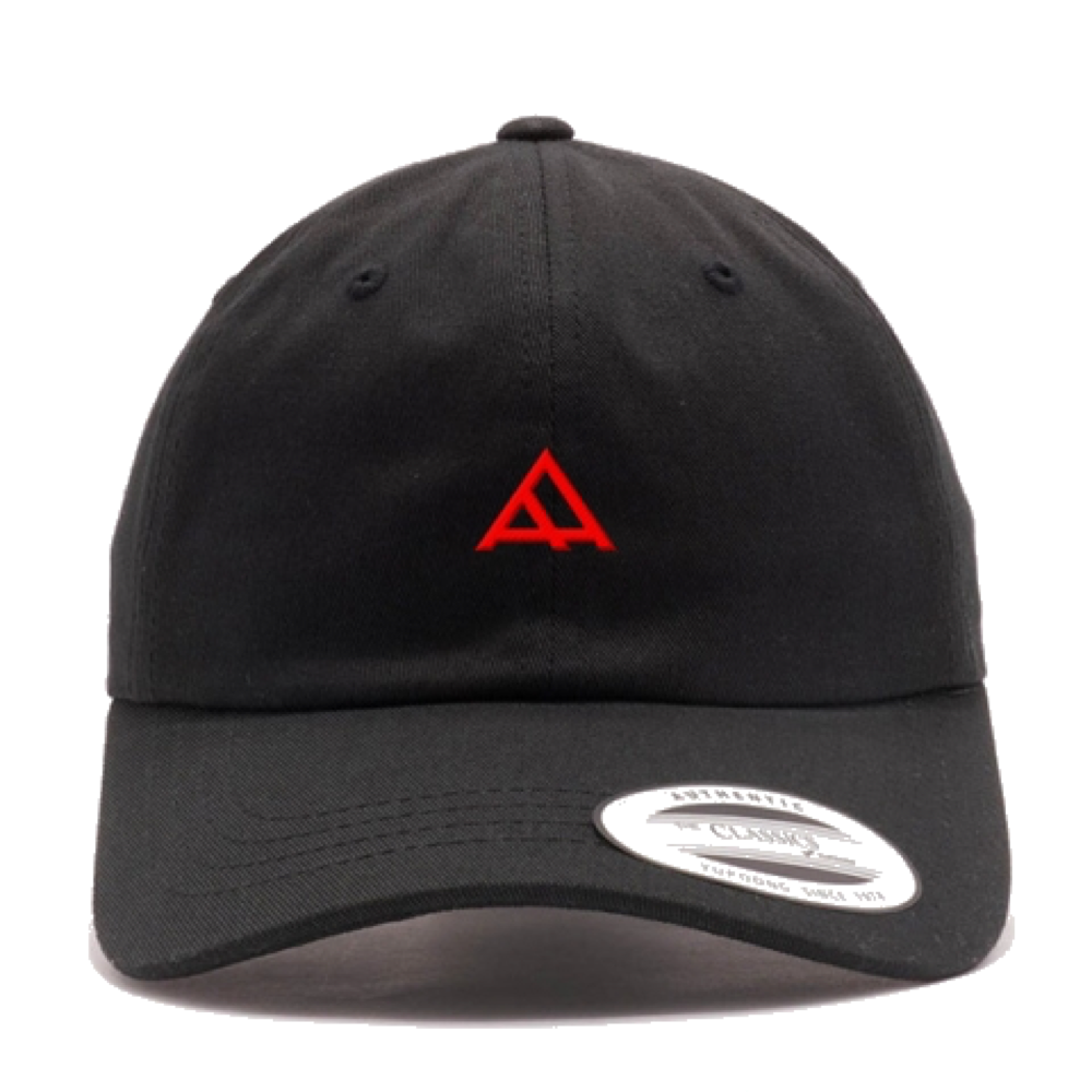 "Alpha Academy Logo Brand ""Dad"" Hat • Red Stitching"