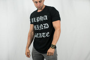 Alpha Mind State • Men's Short Sleeve Tee • Black
