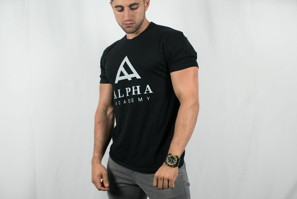 Alpha Academy Brand • Men's Short Sleeve Tee • ALL COLORS
