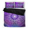 Purple Nights Mandala Bed Sheets - BohoHip