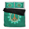 Green Peace Bed Sheets - BohoHip